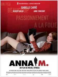 Affiche du film Anna M - http://www.agatfilms.com