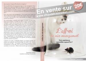 affichette du livre de Chantal Cazzadori, psychanalyste