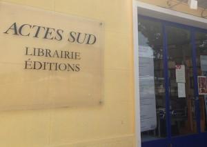 Librairie Actes Sud Arles par Chantal Cazzadori