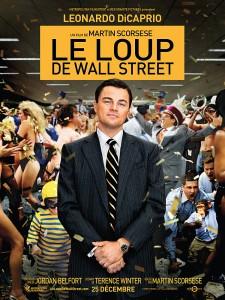 "Affiche ""Le loup de Wall Street"""