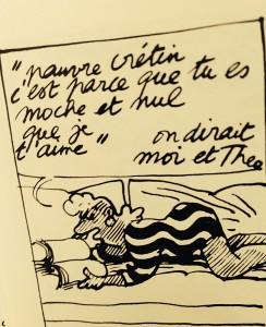 """Album """"Le destin de Monique"""" de Claire Brétecher"""