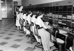 Photo de femmes au travail