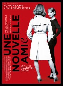 """Affiche du film """"une nouvelle amie"""" de François Ozon"""