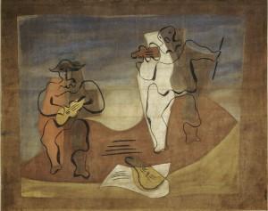Le rideau de scène de Pablo Picasso actuellement au musée Pompidou