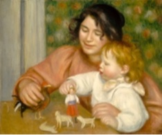 L'enfant et les jouets - Auguste Renoir - Collection of Mr. and Mrs. Paul Mellon, National Gallery of Art, Washington D.C.