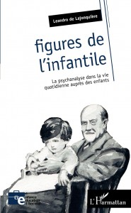 """Couverture du livre """"Figures de l'infantile"""". Leandro de la Jonquière - L'Harmattan"""