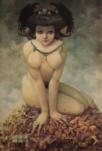 Elle peintre - Gustave Mossa