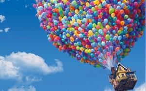 """Image extraite du film """"Là haut"""" - Pixar"""
