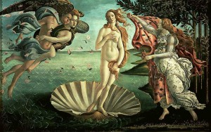 La naissance de Venus - Botticelli