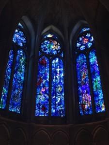 Chagall - vitraux de la cathédrale de Reims