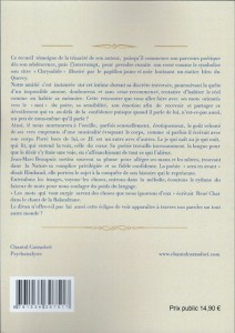 Poésie et psychanalyse par Chantal Cazzadori